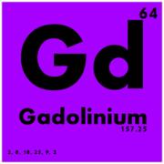 Gadolinium periodic symbol