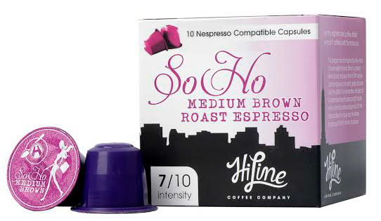 Hiline Coffee Soho Nespresso compatible coffee pods