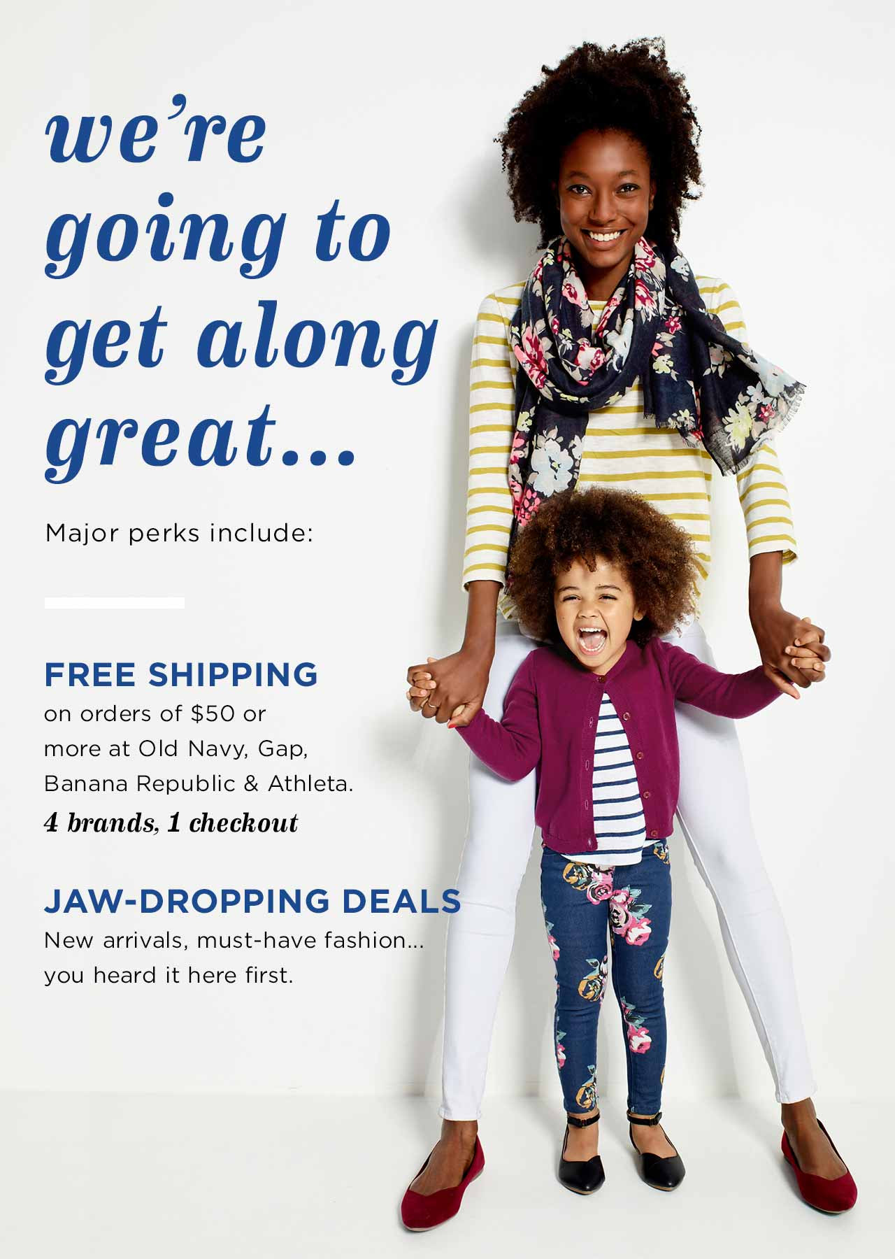 we're going to get along great... | FREE SHIPPING | JAW-DROPPING DEALS