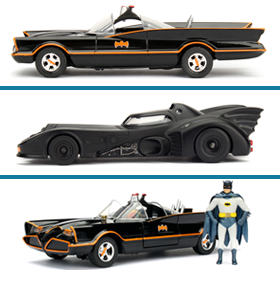 BATMAN METALS DIE CAST VEHICLES