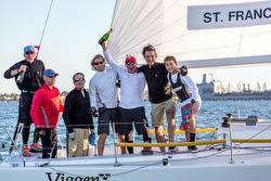 St Francis YC winning J/105 Lipton Cup San Diego