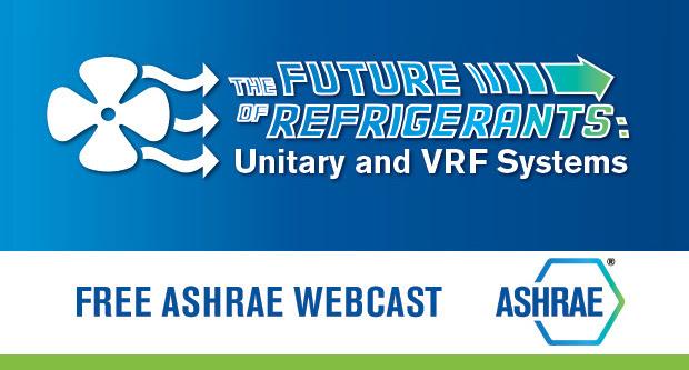 Free ASHRAE Webinar