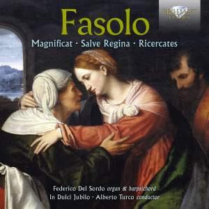 Fasolo: Magnificat, Salve Regina, Ricercates Product Image