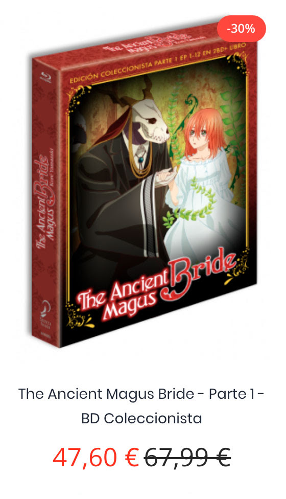 """SelectaVisión abre sus reservas para la serie """"Mahō Tsukai no Yome"""" (The Ancient Magus Bride)."""