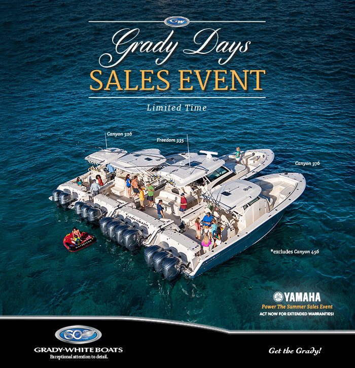 Grady Days Sales Event, Limited Time Only