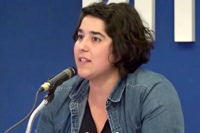 """Tamara García (Jóvenes): """"Al clóset nunca más significa que ya salimos, existimos y no vamos a volver a la oscuridad nunca más"""""""