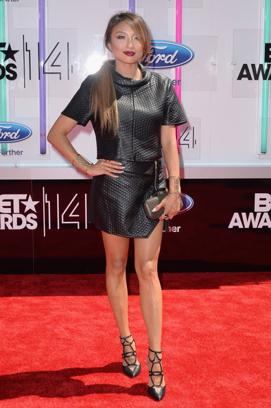 Actress Jeannie Mai attends the BET AWARDS '14 at Nokia Theatre L.A. LIVE on June 29, 2014 in Los Angeles, California.