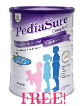 pediasure1 FREE PediaSure Powder!