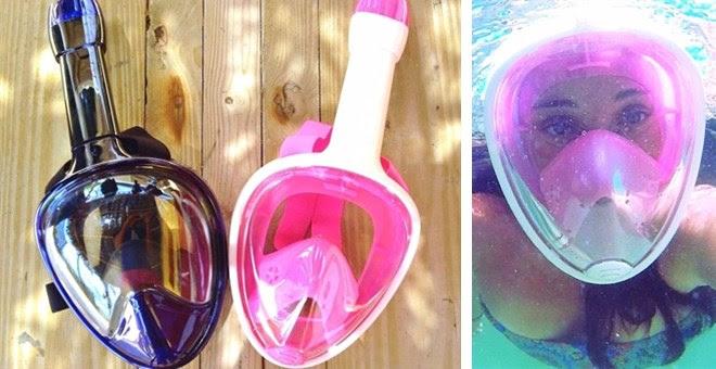 HOT!! Full Face Snorkeling Mas...