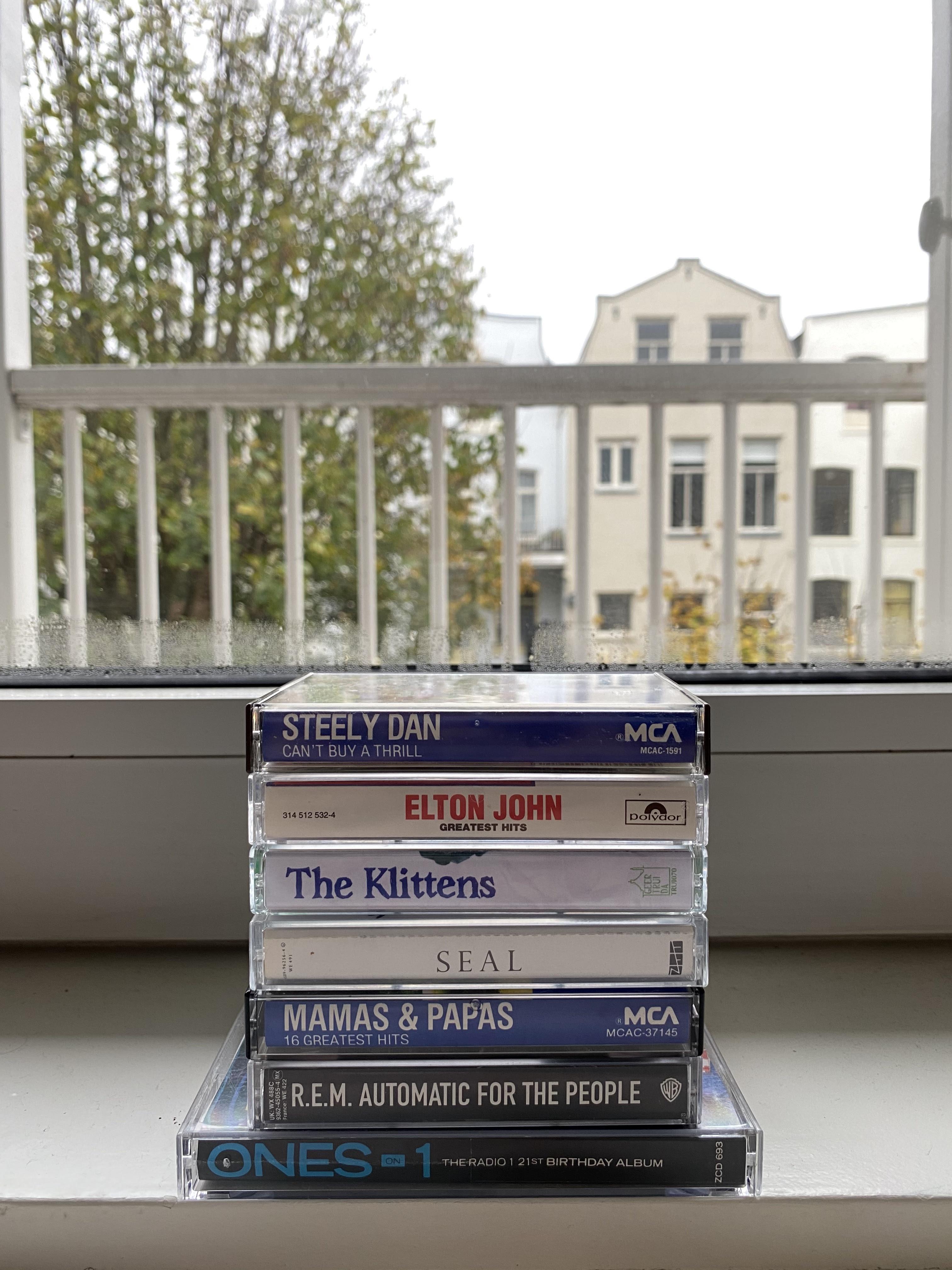 cassette tape selection