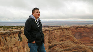 Alray Nelson is an outspoken opponent of the tribal law that bans same-sex marriage.
