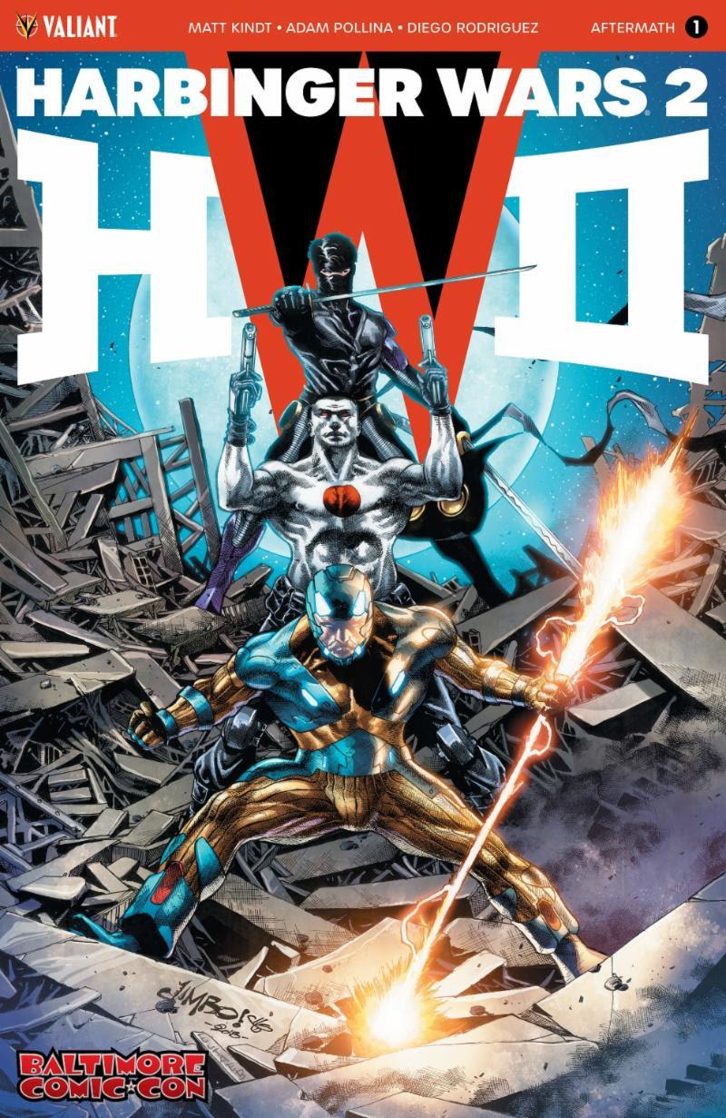 Harbinger Wars 2 BCC Exclusive