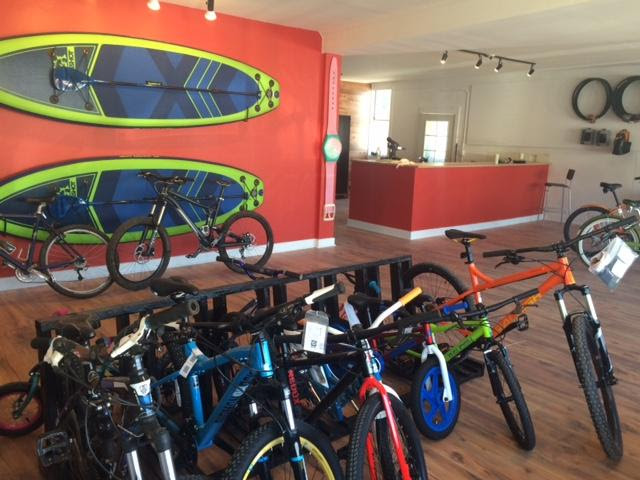 Cloud Cap Cycle and Board Shop Interior