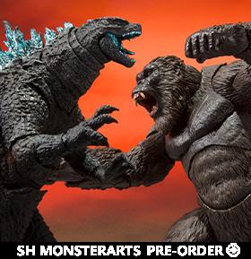 Godzilla vs. Kong S.H.MonsterArts