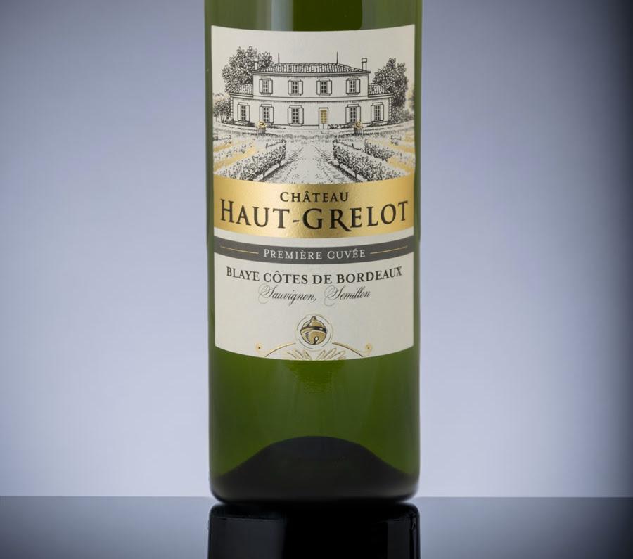 Bottle of Premier Cuvee Blaye Cotes de Bordeaux Blanc 2019 by Château Haut Grelot