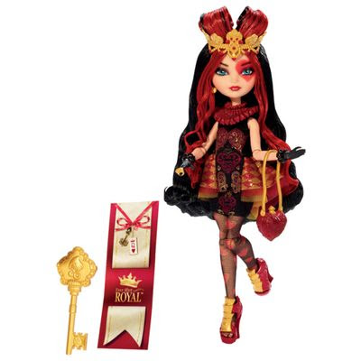 Ever After High Boneca Royal Lizzie Hearts - Mattel