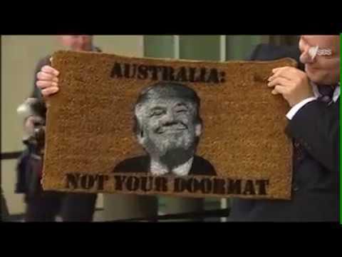 Australian Prime Minister Vs Donald Trump.  Hqdefault
