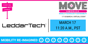 LeddarTech Brings Together Industry Experts to Discuss the Effect of COVID-19 on Smart City Strategies at MOVE America Virtual 2021 From March 17-18