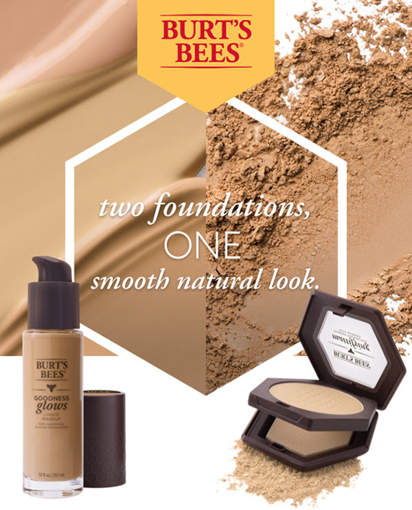 Two foundations, One smooth, natural look