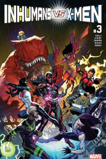 Inhumans vs. X-Men #3