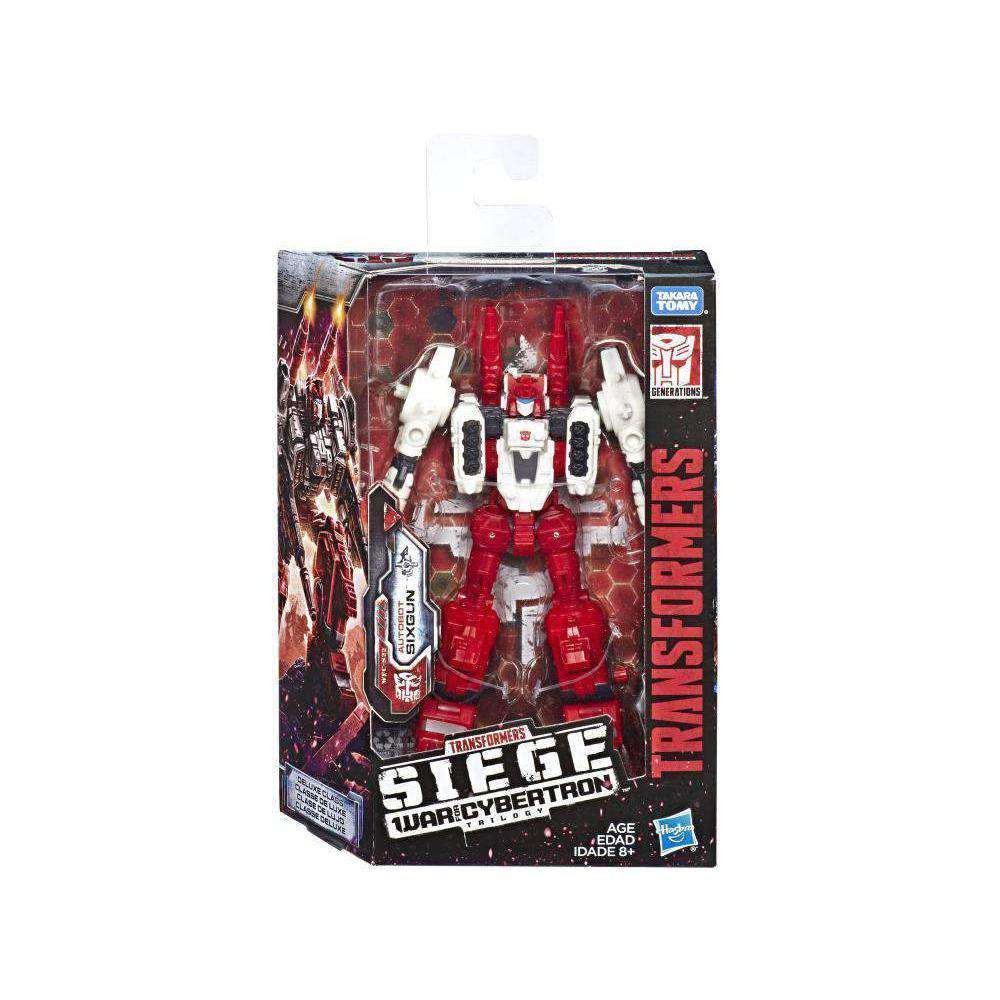 Image of Transformers War for Cybertron: Siege Deluxe Wave 2 - Sixgun