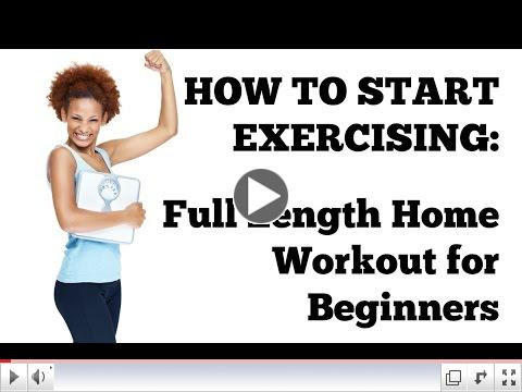 How To Start Exercising: 20-Minute Full Length Workout At Home for Total Beginners Without Equipment