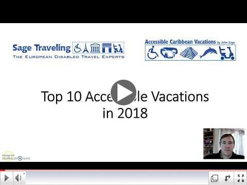 Top 10 Accessible Vacations in 2018