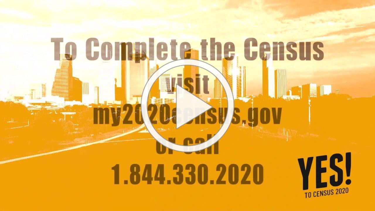Ricardo Barnes Census 2020 PSA