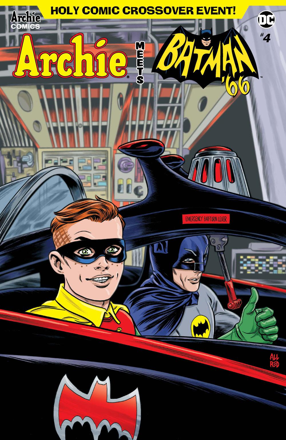 Archie Meets Batman '66 #4: CVR A Allred