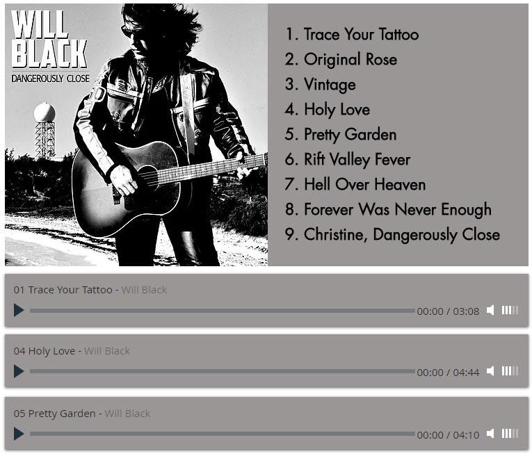 Album Tracklist