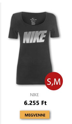 Utolsó darabok - Nike - Block QTT T Shirt Ladies