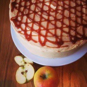 Brett & Bailey: Apple & salted caramel cake
