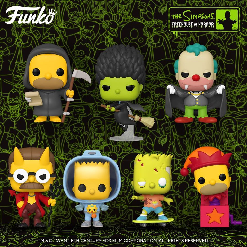Image of Funko Pop! Animation: Simpsons - Treehouse of Horror Set of 7