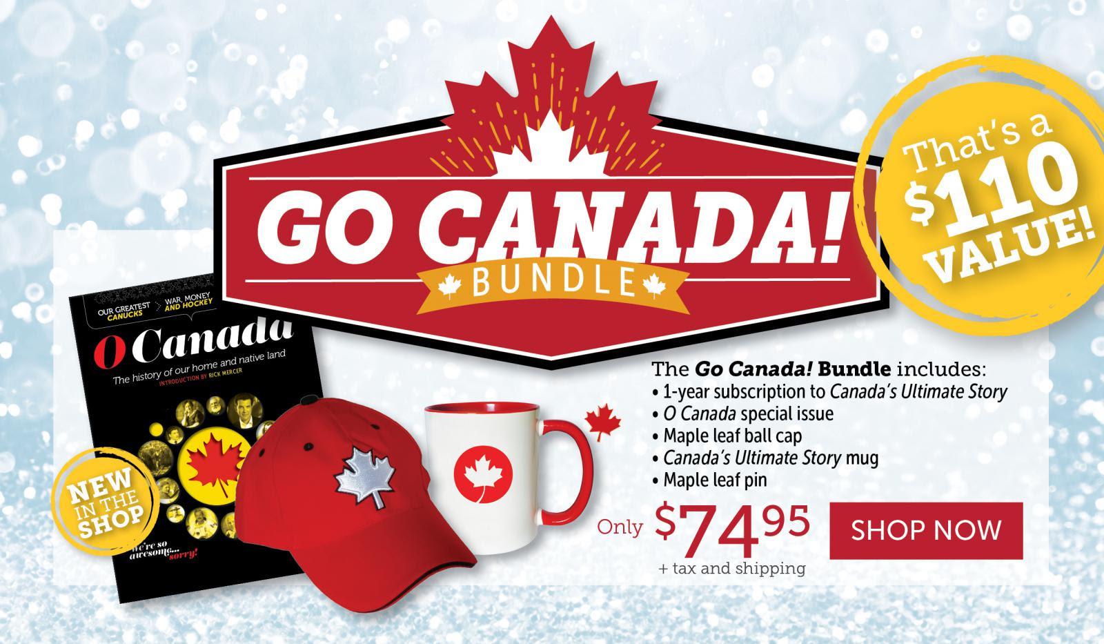 Go Canada Go Bundle!