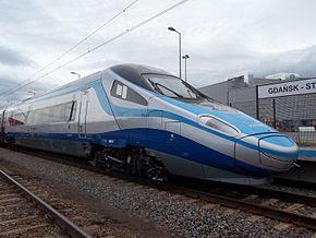 Pendolino ED250 PKP Intercity