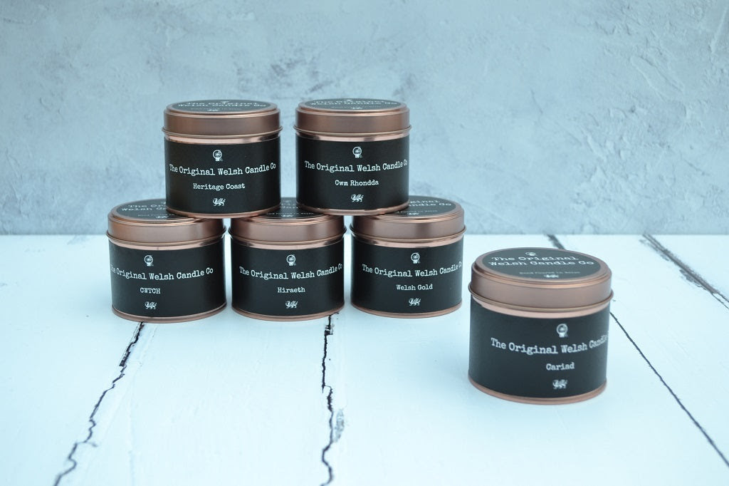 Image of Hand poured candles - Copper Tin