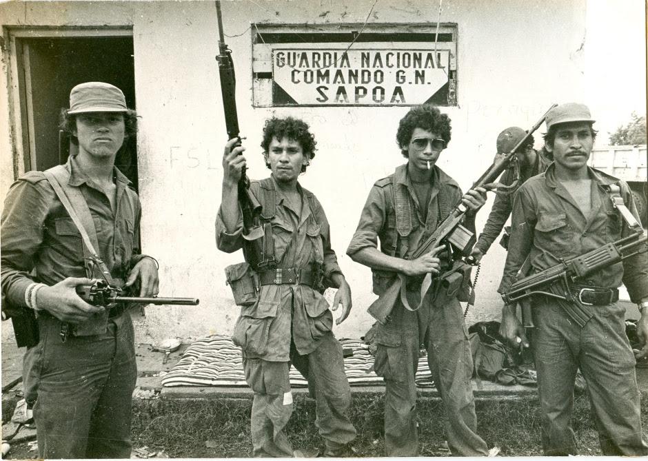 Combatientes de primera línea que se tomaron el comando de la Guardia Nacional de Sapoá.