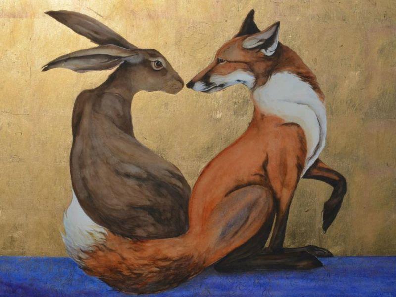 fox hare
