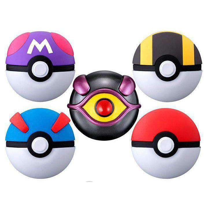 Image of Pokemon Ball Collection Mewtwo Box of 8 Exclusive Poke Balls - MAY 2019