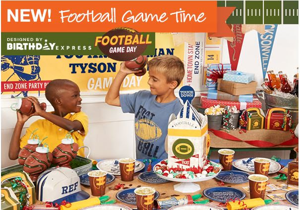 Birthday Express Football Party Supplies