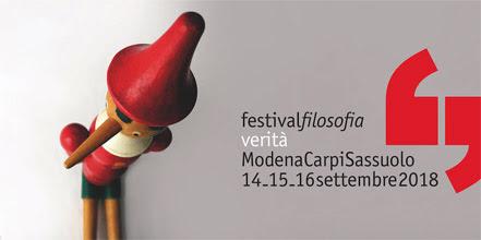 Domani conferenza stampa a Roma - Al Festival filosofia di Modena 200 appuntamenti in  tre giorni sulla verità