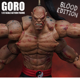 MORTAL KOMBAT GORO (BLOODY) 1/12 SCALE BBTS EXCLUSIVE FIGURE