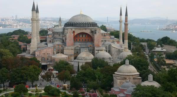Hagia Sophia entre as maravilhas do mundo