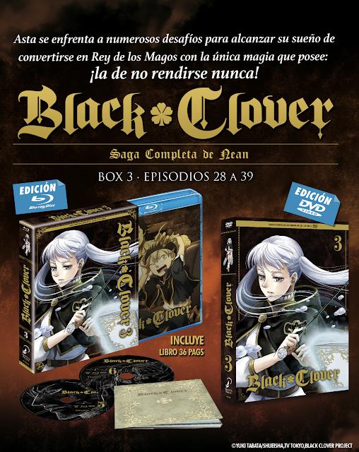 BLACK CLOVER BOX 3