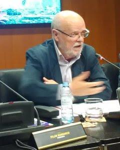 El magistrado emérito del Supremo explicó que España lleva una década de retraso en cumplir una resolución del Consejo de Europa sobre el Valle de los Caídos.