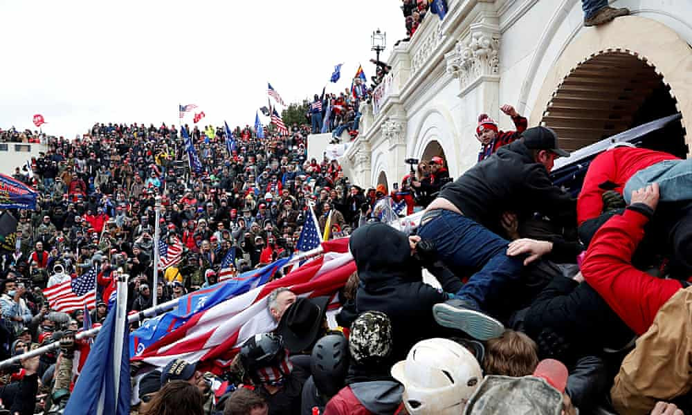 FBI net closes on Maga mob that stormed the Capitol