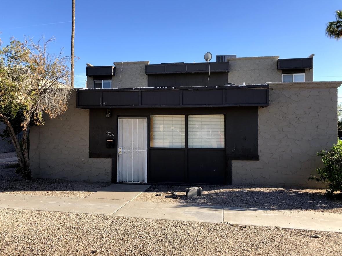 4738 E Portland St Phoenix, AZ 85008 condo wholesale Price $117,499 /  ARV $155,000+