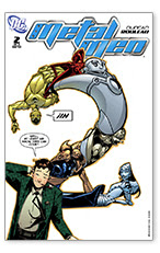 Metal Men (2007-2008) #2 (of 8)