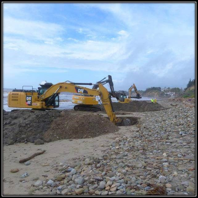 CSLC Haskell's Beach Hazards Removal
