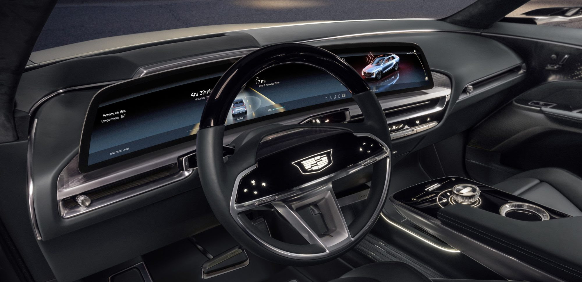 Cadillac's new infotainment system